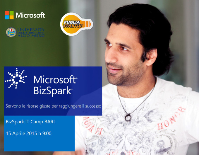 BizSpark IT Camp Bari_2015_4_15