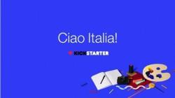 Kickstarter arriva in Italia