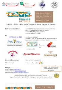 Programma Genuino Day 2016 Taranto