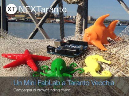 Mini FabLab a Taranto Vecchia: prosegue la campagna di crowdfunding