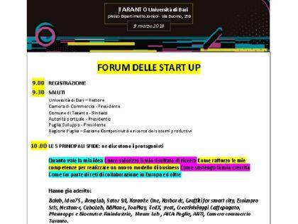 Approda a Taranto Startup Europe Week