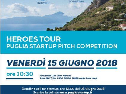 Al via il Puglia Startup Pitch Session 2018