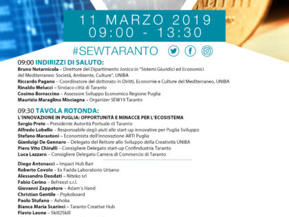 Startup Europe Week Taranto 2019