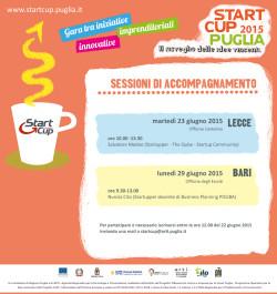 Start Cup Puglia 2015 - sessioni di accompagnamento